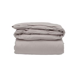 c0fa031fcff Lexington Hotel Tencel Stripe Duvet, Light Beige/White - Dynebetræk 140x200  cm (P.t.