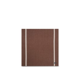 Lexington Cotton Twill Napkin with striped, brown/white