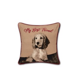 Lexington Best Friend Printed Contton Twill Pillow Cover