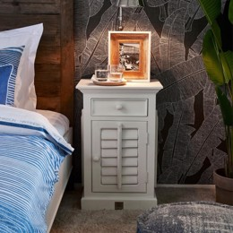 Riviera Maison New Orleans Bed Cabinet Right - sengebord (Bestillingsvare)
