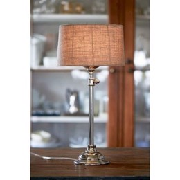 Riviera Maison Apartment Lamp shiny silver - bordlampe