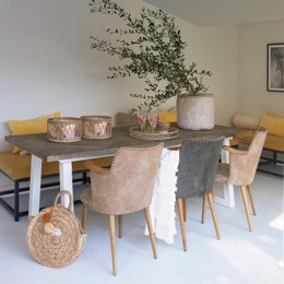 Riviera Maison Mallorca Dining Table 220x90 cm