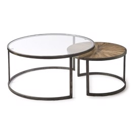 Riviera Maison Cameron Coffee Table S/2 (Bestillingsvare)