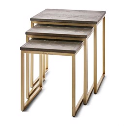 Riviera Maison Costa Mesa End Table S/3 (Bestillingsvare)