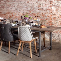 Riviera Maison Arlington Dining Table Extendable 230/300x90 cm
