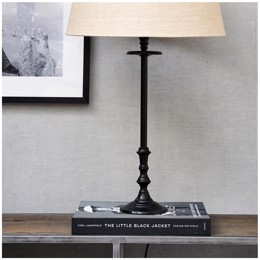 Rivièra Maison L'Hotel Lamp Base antique black