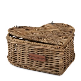 Riviera Maison Rustic Rattan Heart Shape Tea Box