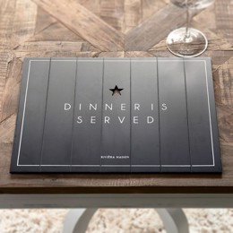 Riviera Maison Dinner Is Served Placemat