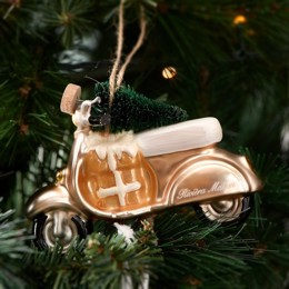 Riviera Maison Christmas Scooter Ornament