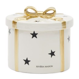 Riviera Maison Christmas Decoration Box Round