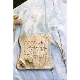 Riviéra Maison Good Morning Chopping Board (1 stk. tilbage)