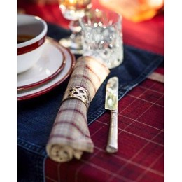 Lexington Holiday Brass Napkin Ring - servietring (6 stk. tilbage)