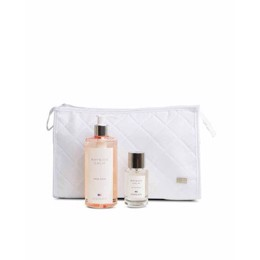 Lexington Holiday White Cosmetic Bag Bayside Calm
