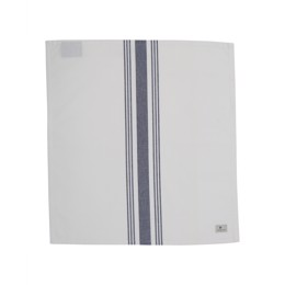 Lexington Hotel Striped Napkin, White/Blue 50x50 cm