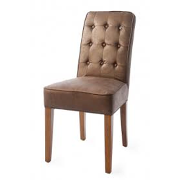 Riviera Maison Madison Dining Chair, pellini, coffee (2 stk. tilbage)
