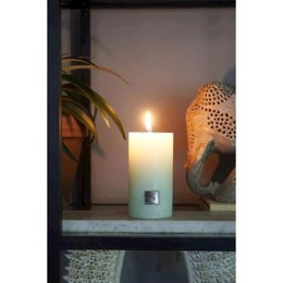 Riviera Maison Rustic Candle water lily green 7x10 cm