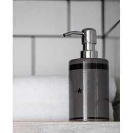 Lexington Ceramic Soap Dispenser Dark Gray - sæbedispenser mørkegrå