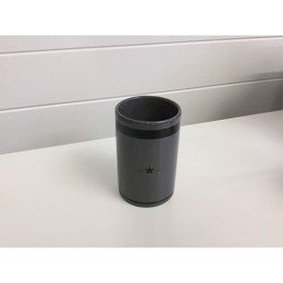 Lexington Ceramic Tumbler, Dark Gray - tandkrus mørkegrå