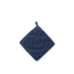 Lexington Icons Cotton Twill Denim Potholder - grydelap