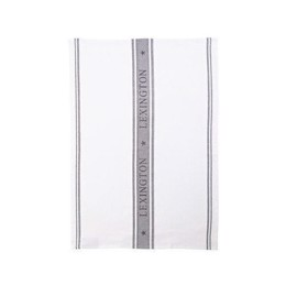 Lexington Icons Star Kitchen Towel White/Gray - Viskestykke hvid/grå